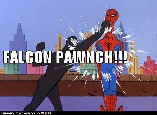 FALCON PAWNCH!!!