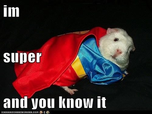 im super and you know it