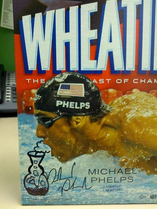 drugs Michael Phelps marijuana wheaties - 6812400896