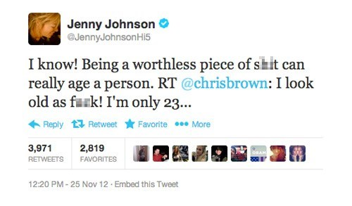 twitter,chris brown,jenny johnson