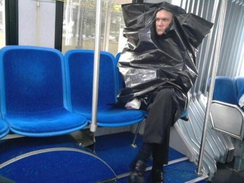 fashion,raincoats,plastic bags,garbage bags