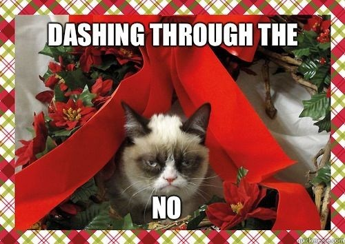 christmas captions tarder sauce holiday Grumpy Cat Cats - 6812557568