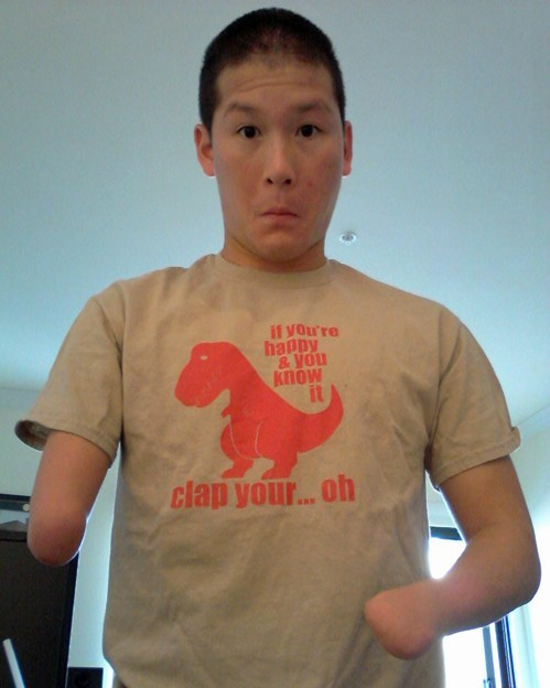 T.Shirt,no hands,t rex