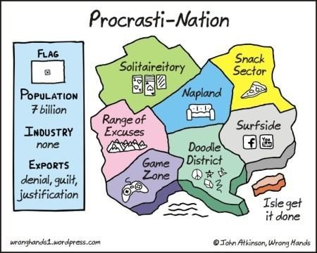 nap procrastination gaming map flag internets