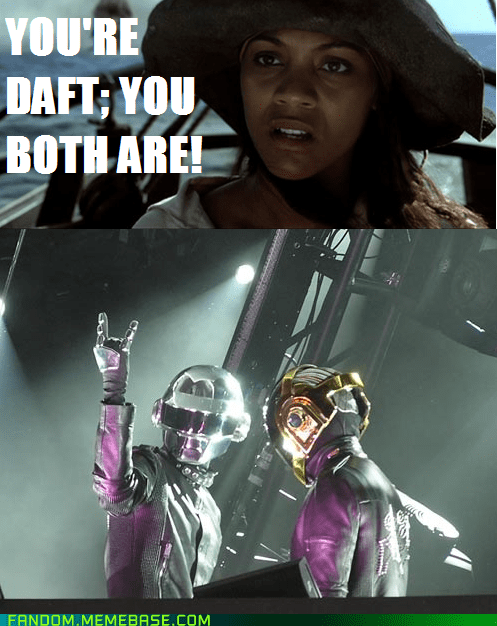 daft,crossover,Pirates of the Caribbean,daft punk