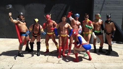super heroes The Avengers sexy men poorly dressed g rated - 6813046528