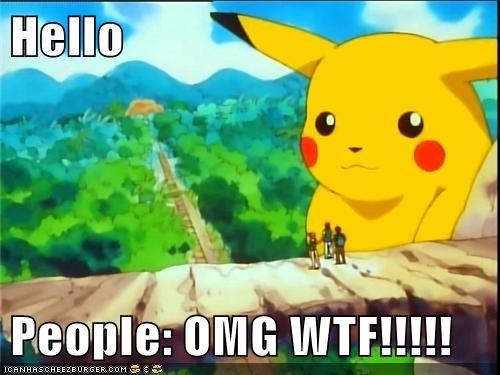 Hello  People: OMG WTF!!!!!