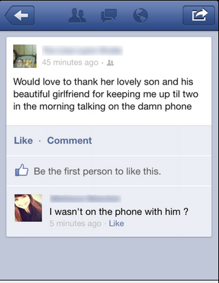 phone,girlfriend,facebook,son,dating fails