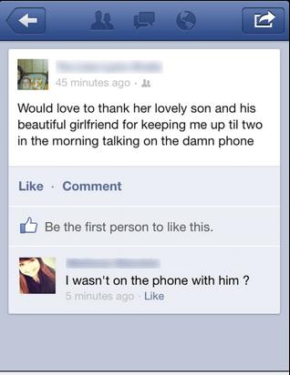 phone girlfriend facebook son dating fails - 6813316352