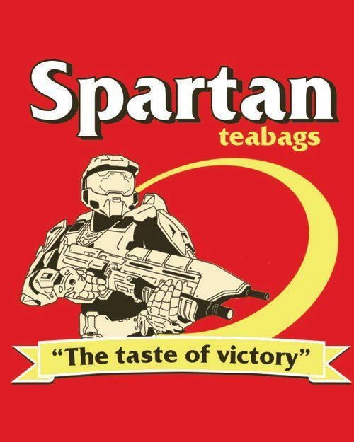 spartans teabag cereal Halo 4
