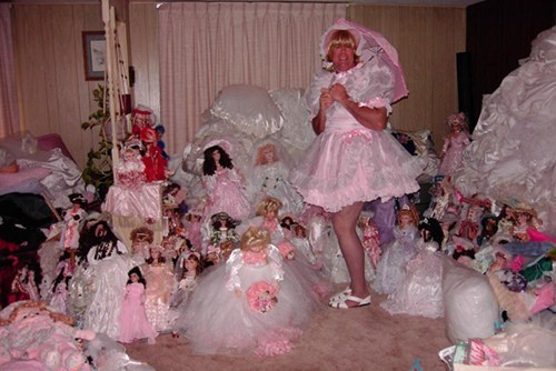 pink,baby dolls,cross dressing