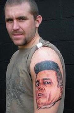 arm tattoos johnny cash - 6813543168