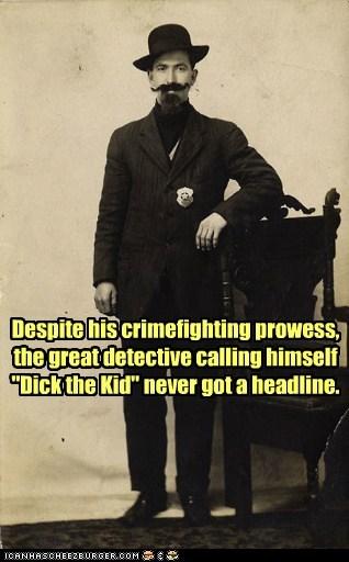 mustache,detective