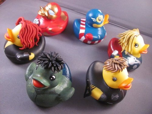 custom,rubber duckies,The Avengers