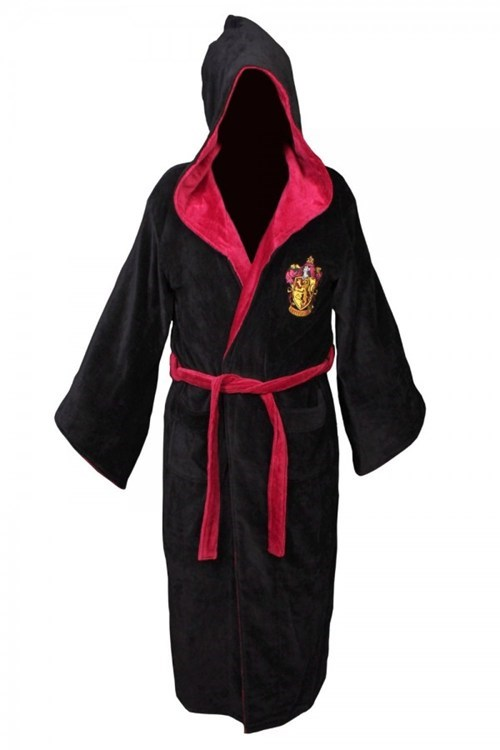 robe bathrobe Harry Potter crest gryffindor - 6813824256