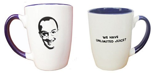 Buster Bluth,cup,arrested development,juice,mug