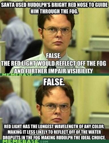 schrute facts,re-frames,rudolph