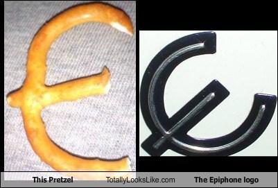 pretzel logo TLL epiphone food funny - 6814179072