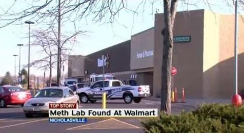 drugs meth Walmart store - 6814350848
