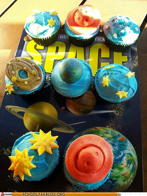 planets nerdy noms Astronomy cupcakes space - 6814529280