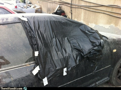 dubai window tinting plastic bag window - 6814633216