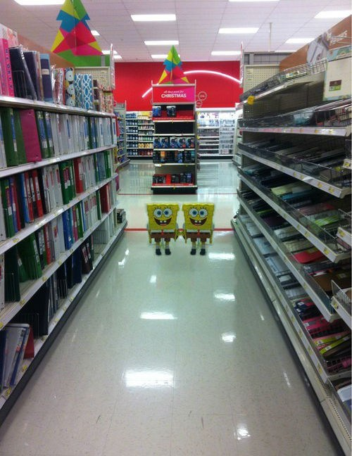 SpongeBob SquarePants,Target,the shining