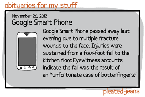 google smart phone,pleated jeans,obituaries