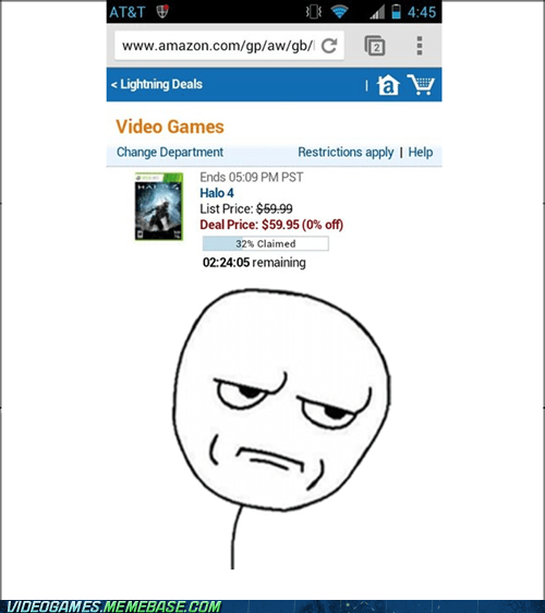 deal,amazon,cyber monday,stupid,Halo 4