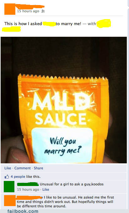 taco bell hot sauce fire sauce classy proposal wedding engagement taco bell sauce popping the question - 6815481856