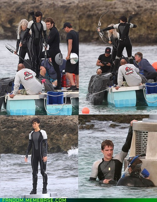 movies set pics hunger games catching fire - 6815593216
