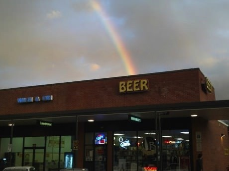 beer end of the rainbow leprechaun store