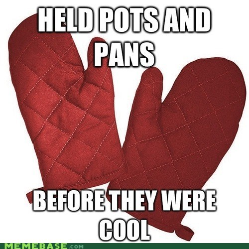 oven mitts before it was cool hipsters - 6815685376