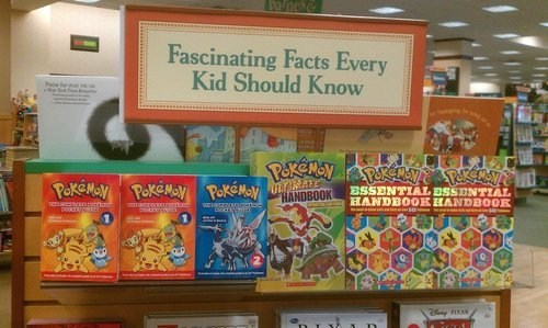 Pokémon facts kids IRL books - 6815824384