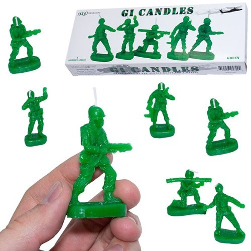 candles nostalgia fire army men - 6815864576