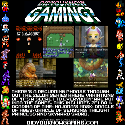 secret to everybody,did you know gaming,zelda
