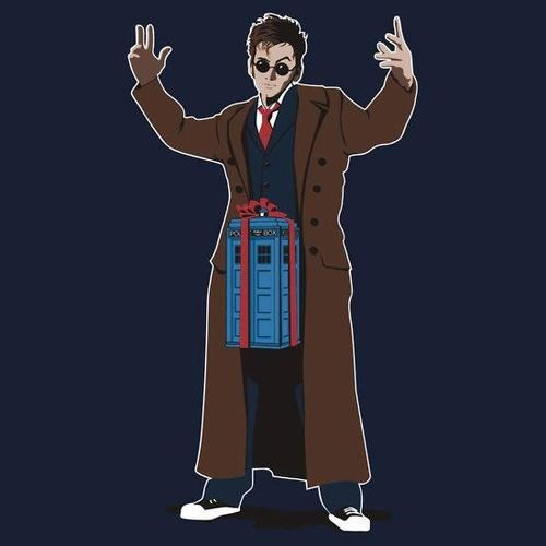 in a box David Tennant the doctor tardis step one doctor who bigger on the inside Lonely Island - 6815923712