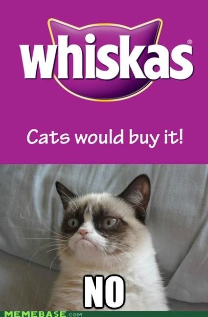 whiskas,Grumpy Cat,Cats