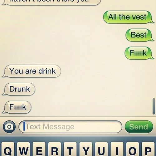 iPhones drunk a problem drunk texting - 6816034816