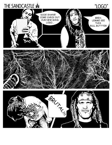 band logos,comic,heavy metal