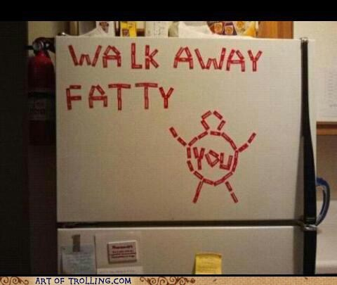 fatty,jerk,fridge