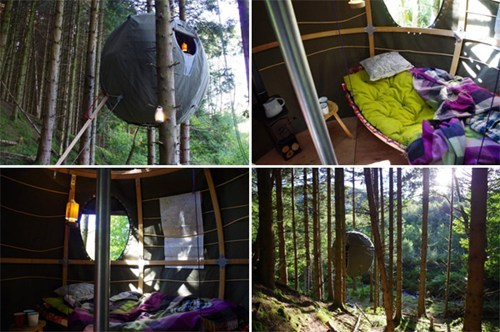tree house structure architecture tent - 6816196096