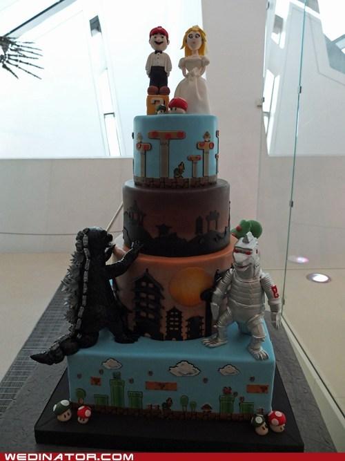 cake godzilla super mario mario - 6816200704