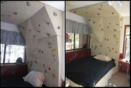 bed,rock climbing,design,classic