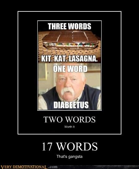 17 words gangsta diabetes - 6816408576