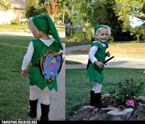 link the legend of zelda childrens-costumes
