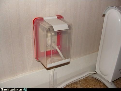 babyproofed wall socket babyproofing tupperware - 6816423424