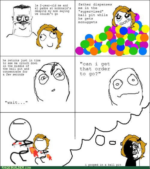 poop nothing to do here me gusta McDonald's ball pit oh god why litter box - 6816633600