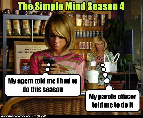 parole paris hilton the simple life had to agent - 6817004032