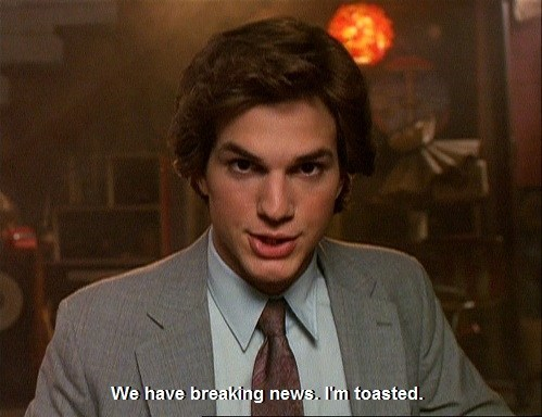 toasted,marijuana,ashton kutcher,that 70s show