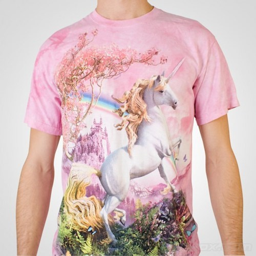rainbows,pink,unicorns,t shirts,poorly dressed,g rated